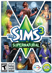 The Sims 3: Supernatural (2012)