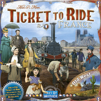 Ticket to Ride Map Collection 6 – France & Old West (2017)