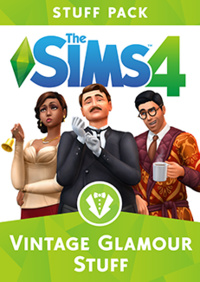 The Sims 4: Vintage Glamour Stuff (2016)