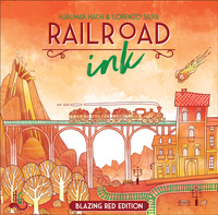 Railroad Ink: Blazing Red Edition (2018)